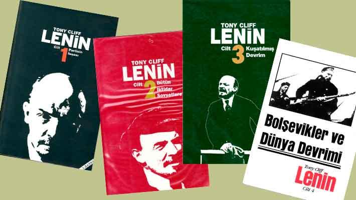 Tony Cliff'in 4 Ciltlik Lenin Biyografisi
