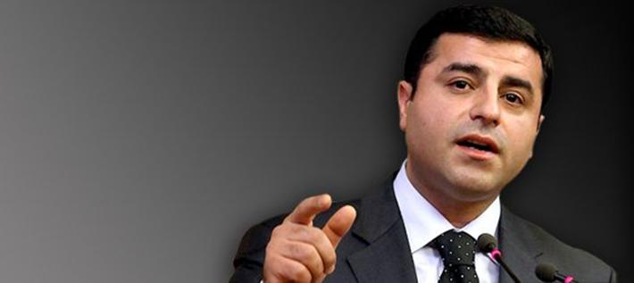 """HDP Eş Genel Başkanı Selahattin Demirtaş: """"İddiamız seçime parti olarak girmeyi gerektiriyor"""""""