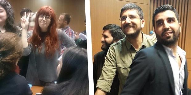 Özgürlükçü Hukukçular Derneği üyeleri serbest bırakıldı..