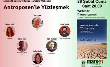 Antroposen'le Yüzleşmek: Kitap Tanıtım Webinarı